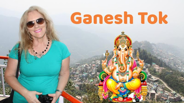 Ganesh Tok, templo de devoção ao Deus Ganesha, em Gangtok