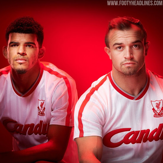 low priced 3f711 77599 Classy Liverpool Retro Kit Collection Launched - Footy ...