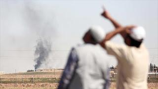 ¡La coalición de EEUU vuelve a atacar a tropas sirias!
