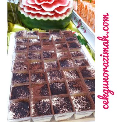 pelbagai resepi, kek tiramisu, strawberry mousse, aneka manisan, bangi golf resort, buffet ramadhan