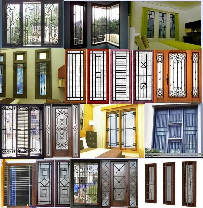 Santoso Steel Kriteria Dan Contoh Teralis Jendela Rumah Minimalis