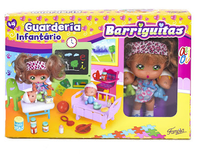 TOYS : JUGUETES - BARRIGUITAS - Guardería  Famosa 2016 | A partir de 4 años  Comprar en Amazon España