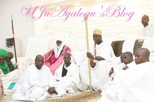 BREAKING: Emir Sanusi Visits Ooni In Ile-Ife, Sues For Peaceful Coexistence