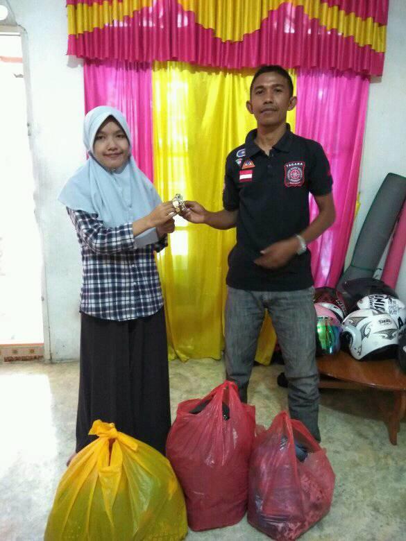 LPD Pidie Mendapatkan Donasi Pakaian Layak Pakai