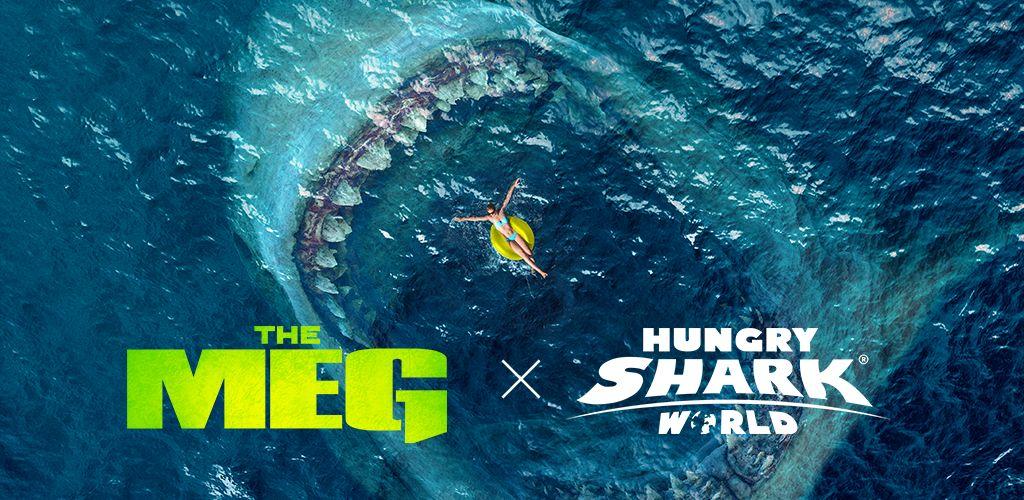 تحميل لعبة Hungry Shark World MEG مهكرة ومحدثة بأستمرار للأندرويد