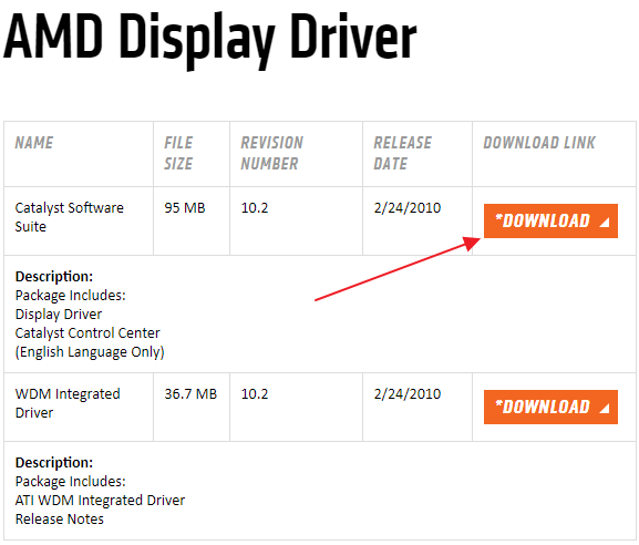 ATI Radeon Xpress 1150 Integrated Driver Download (2019)