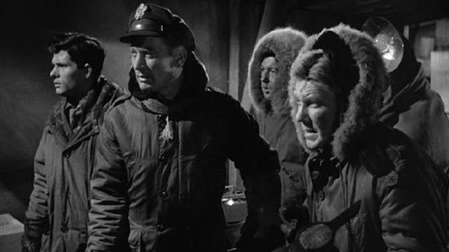 """「遊星よりの物体X」""""The Thing from another world""""(1951)「遊星よりの物体X」(1951)"""