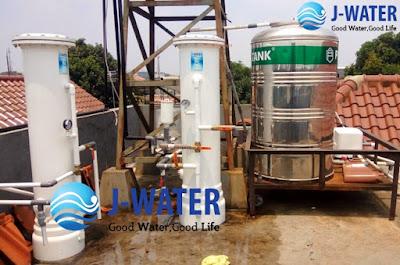 Pemasangan Filter Air Tandon