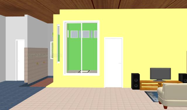 Desain Mushola Keluarga di Dalam Rumah