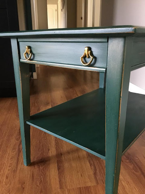 Side Table in FAT paint Limited Edition Cascadia
