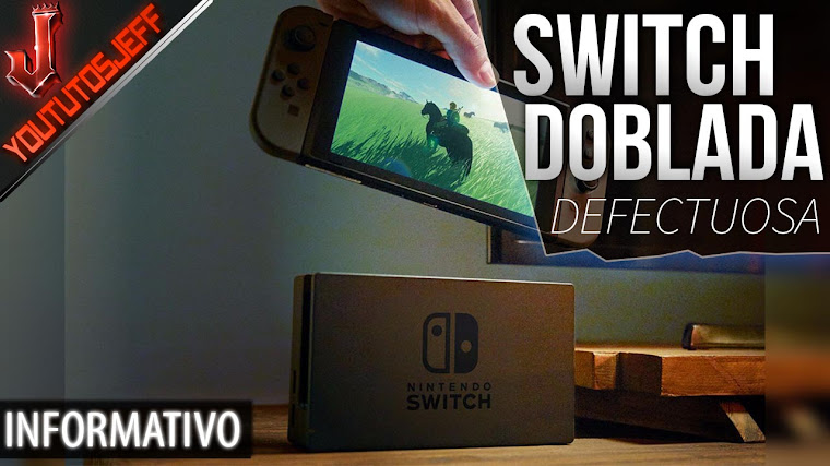 Nintendo SWITCH se ha doblado tras pasar mucho tiempo en el dock