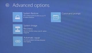 advance option windows 8