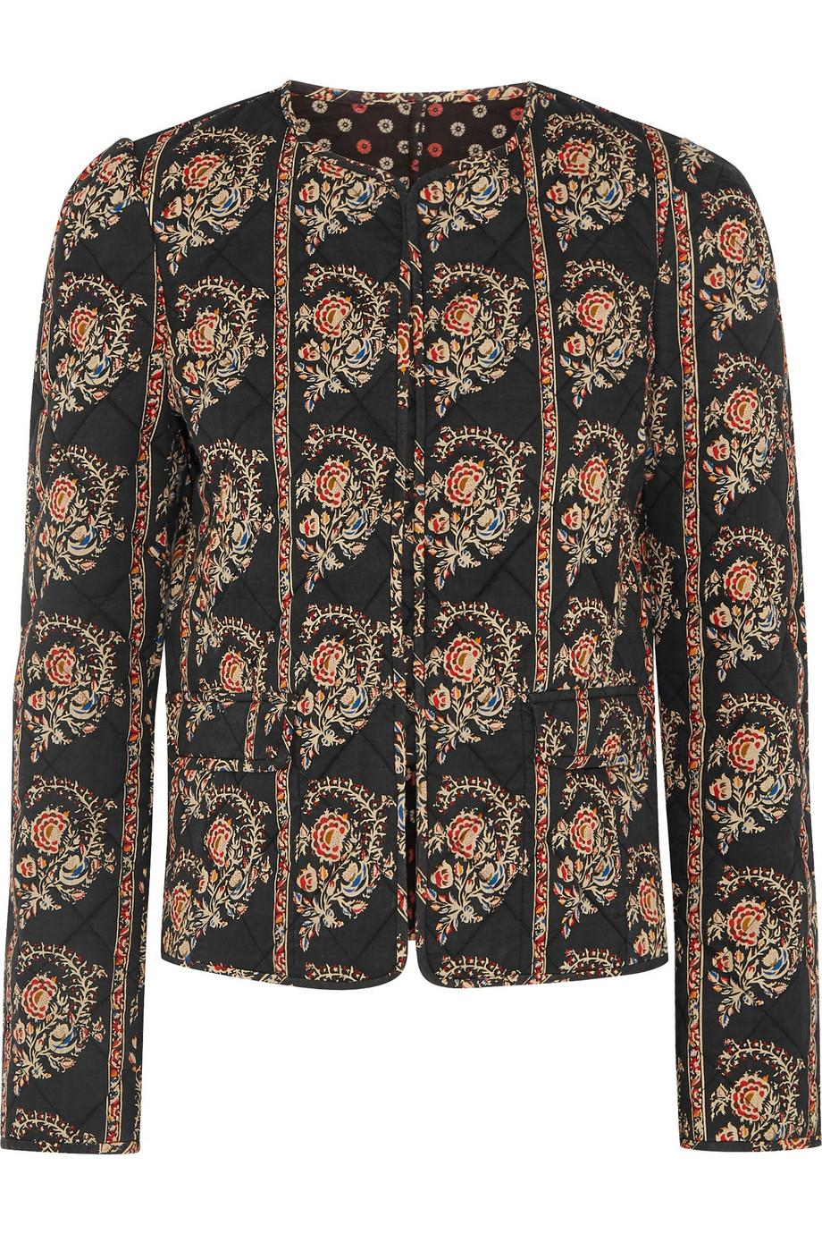 Isabel Marant Étoile Elmer reversible quilted jacket £220