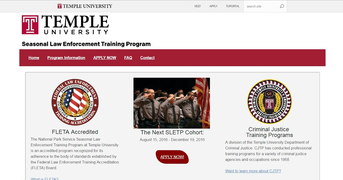 Proranger Program At Temple University Announcing The New Sletp