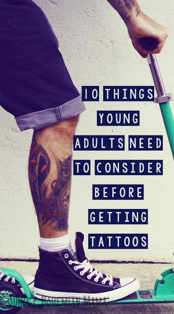 #tattoos Things you need to know before getting a tattoo. First Tattoo Advice. 10 Things Young Adults Need to Consider Before Getting Tattoos, tattoo advice, my child wants a tattoo. Should I get a tattoo? 10 Things You Should Know Before Getting Your First Tattoo.