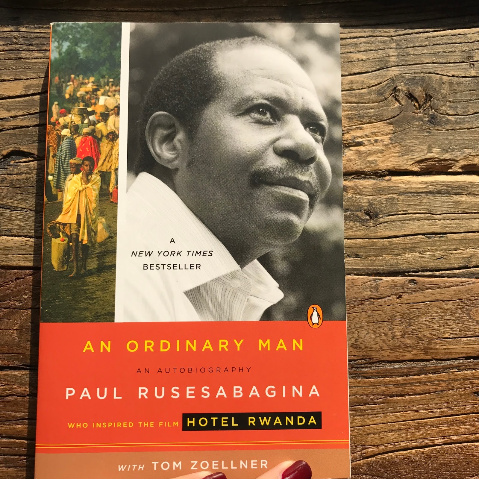an ordinary man paul rusesabagina essay The article presents an interview with paul rusesabagina, author of an ordinary man he recalls the genocide in rwanda in 1994 he relates the role radio played in inciting the masses he describes his experience at hotel mille collines, where he sheltered thousands of people to save them from the.