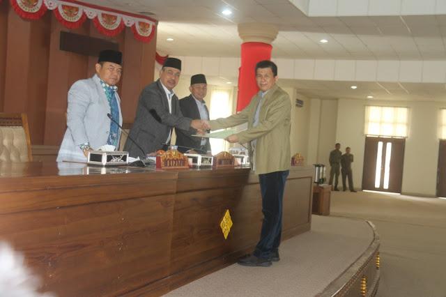 DPRD Oi Sah Kan Raperda APBD 2019 Disahkah