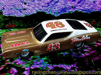 James Hylton #48 Ford Talladega Torino Cobra 1970 Racing Champions 1/64 NASCAR diecast blog