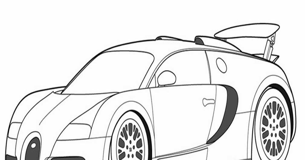 Gambar Mobil Balap Untuk Mewarnai Blog Otomotif Keren