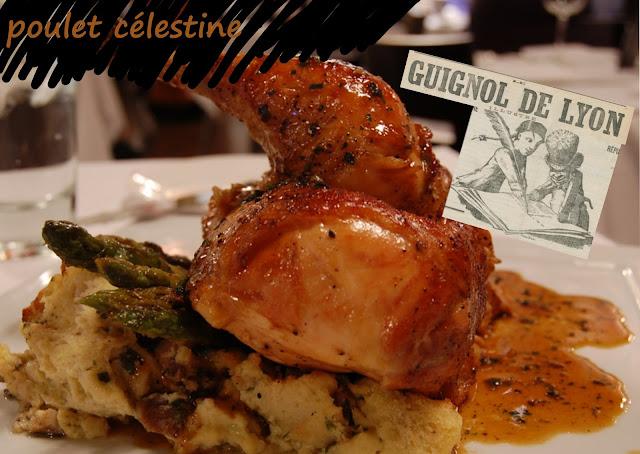 poulet aux champignons cuisiné à la lyonnaise, sans gluten