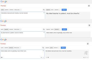 Tłumacz google, tłumaczenie angielski