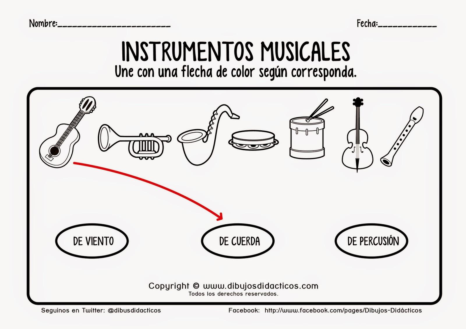 Imagenes De Instrumentos Musicales Para Imprimir