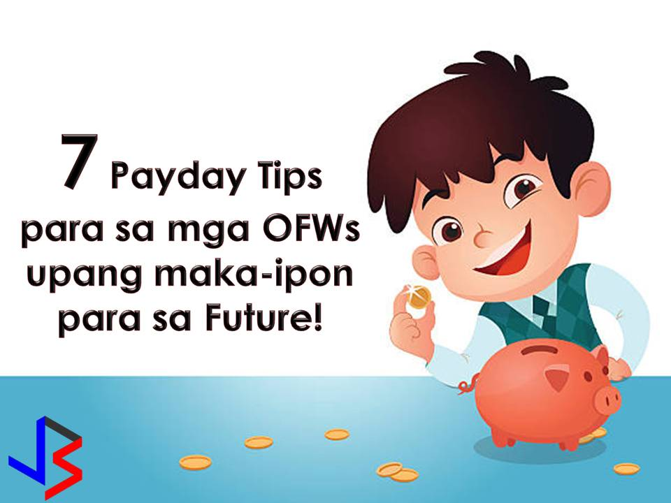 But for OFWs, we all know that working abroad is hard and lonely, but we do anyway to provide the needs and even the wants of our loved ones. Nothing is wrong to provide the needs of our families since this is the main reason why we choose to work abroad - to alleviate the lives of our families.   But for OFWs out there, we should not forget that working abroad is not forever. We are not always young, healthy and capable of working. That is why it is important to save and invest for our retirement and family's future.