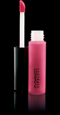 Mac Lipglass in pink Poodle lip gloss