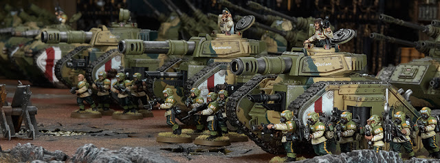 Astra Militarum 8ª edición 40k