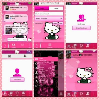 BBM WHATSAPPS Hello Kitty MOD V.2.13.0.26