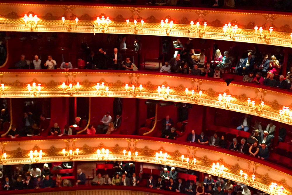 La Traviata at the Royal Opera House - London lifestyle blog