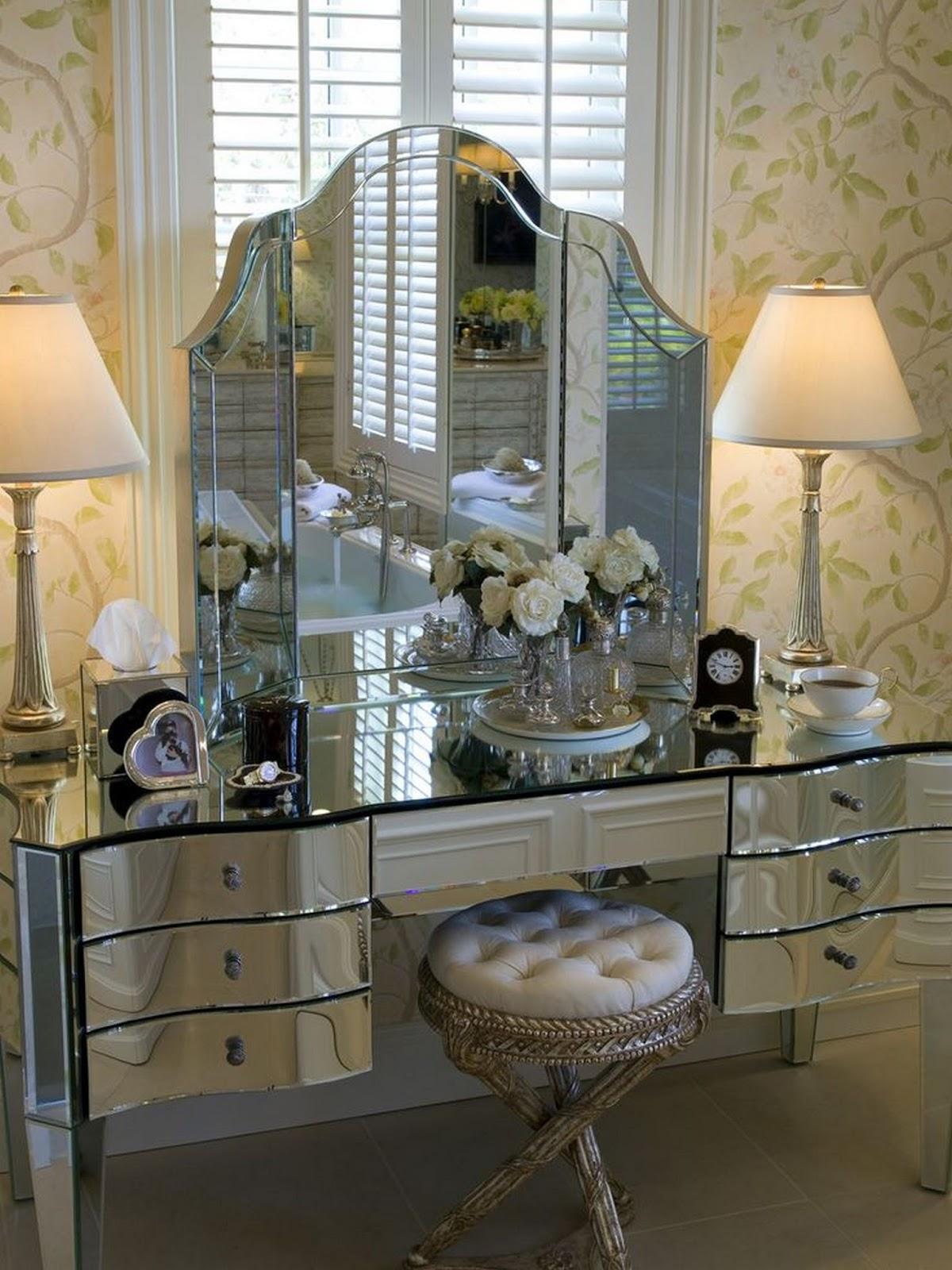 vanities for bedroom with lights