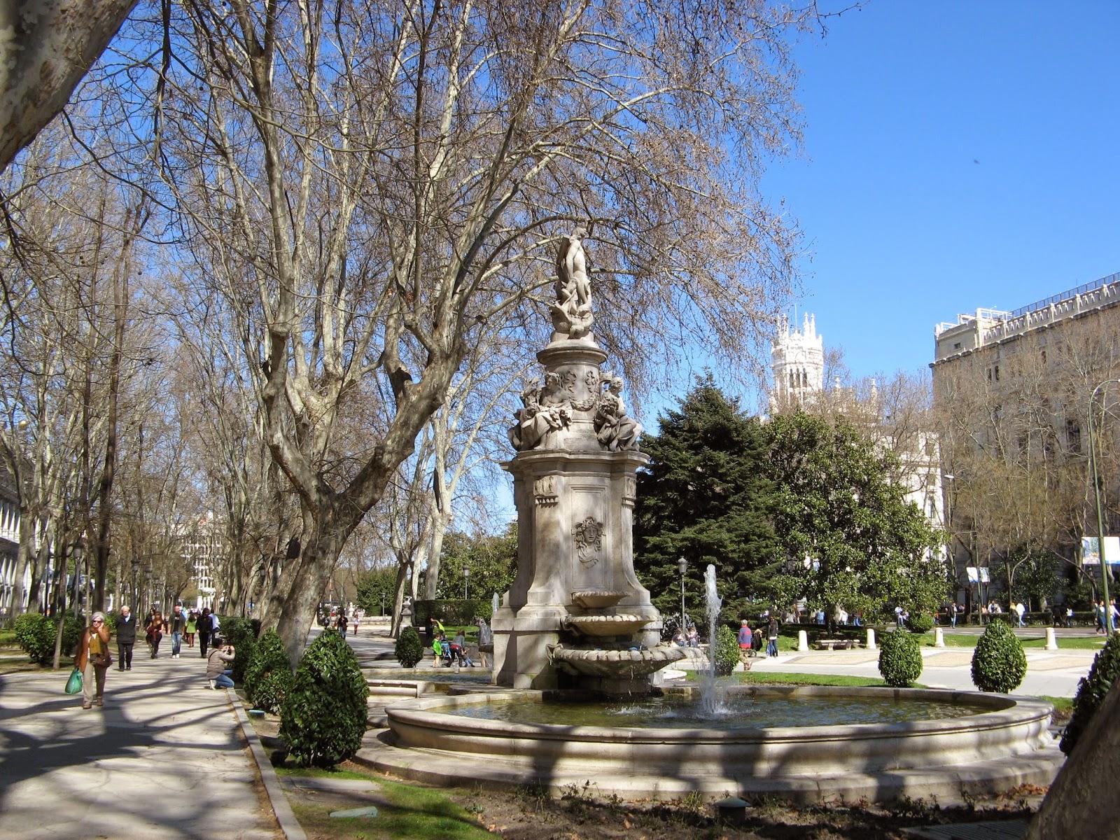 Rincones ibericos madrid paseo del prado comunidad de for Calle prado 8 madrid