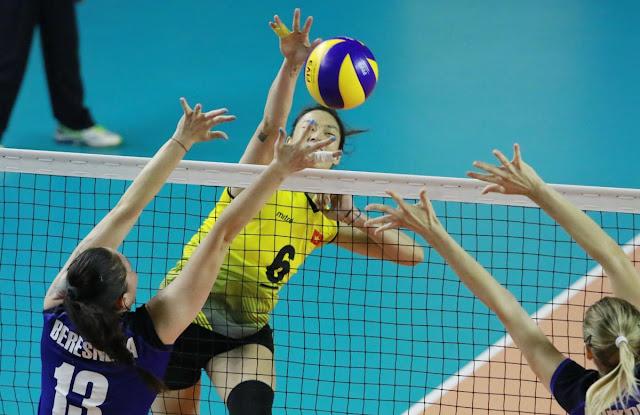 ĐTQG nữ thắng dễ Kazakhstan