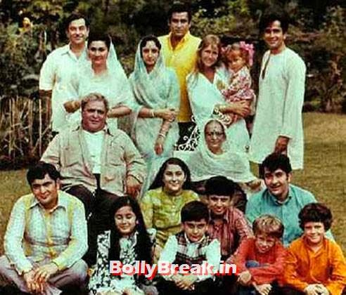 The raj Kapoor family Photo, Kapoor Family Pics, Kapoor Family Chain, Origin, Caste, Family Tree - Nanda, Jain