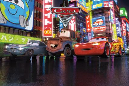 Carros Disney - Painel para decoração de festa infantil