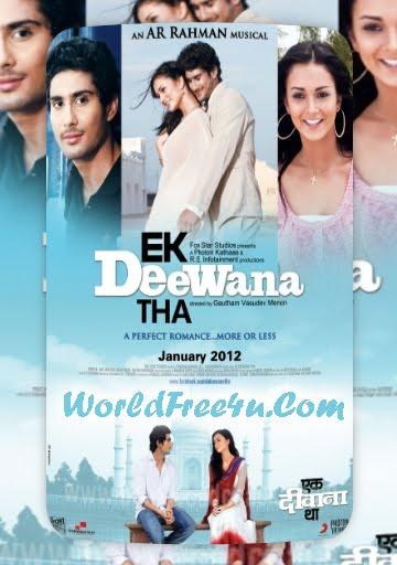Poster Of Hindi Movie Ekk Deewana Tha 2012 Full HD Movie Free Download 720P Watch Online