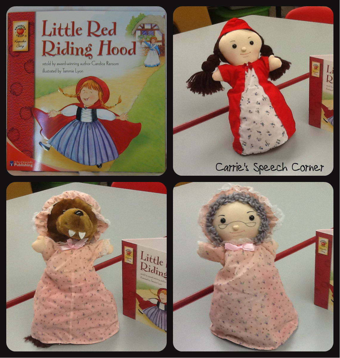 Carrie S Speech Corner Book S Of The Week Little Red