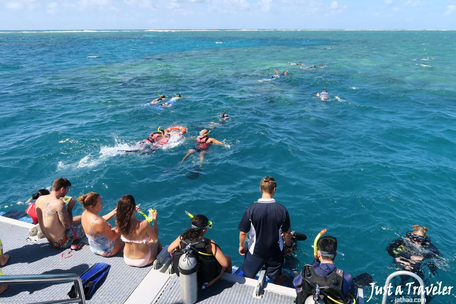 凱恩斯-大堡礁-外堡礁-內堡礁-行程-推薦-浮潛-潛水-旅遊-自由行-澳洲-Cairns-Great-Barrier-Reef-Travel-Australia