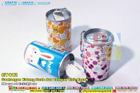 Gantungan Kaleng Soda Dan Tempat Tisu Basah