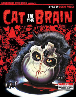 Carátula de un gatto nel cervello del gran Lucio Fulci