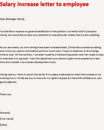 Pay Raise Letter To Employee from 3.bp.blogspot.com