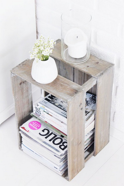 DIY Be Creative Many Things You Can Do With Wooden Boxes 7