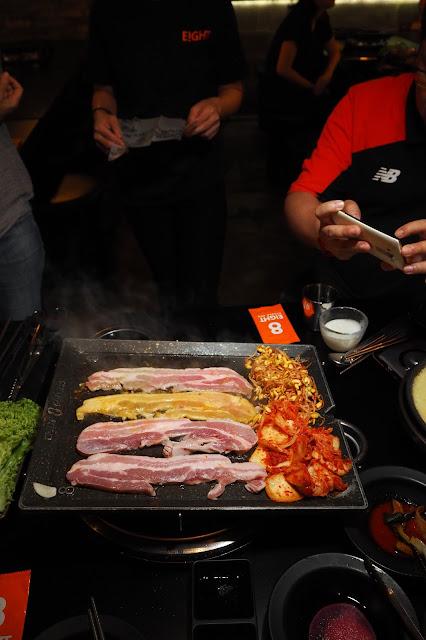 4 flavours set 8 korean bbq meat