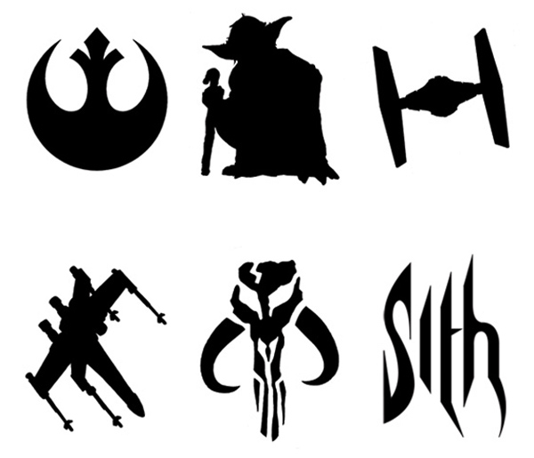 Star War Pumpkin Stencils Carving Pattern Outline Free Printable