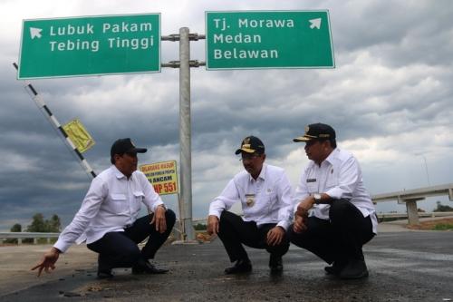 Mantap! Tol Medan-Kualanamu-Tebingtinggi dan Medan-Binjai Diresmikan September