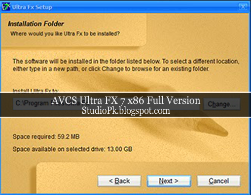 AVCS Ultra FX 7 x86 Full Version Download