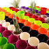 El alquiler de maceteros de flores de plástico en China se convierte en tendencia