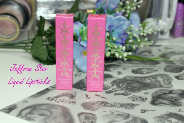 Jeffree Star Celebrity Skin & Unicorn Blood Liquid Lipsticks