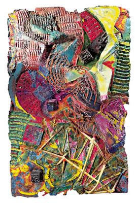 Extrospection les bouts de cervelle d 39 lias frank for Frank stella peinture